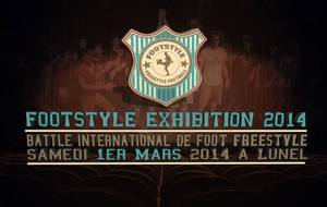 FOOTSTYLE EXHIBITION 2014